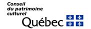 Logo du Conseil du Patrimoine Culturel du Québec