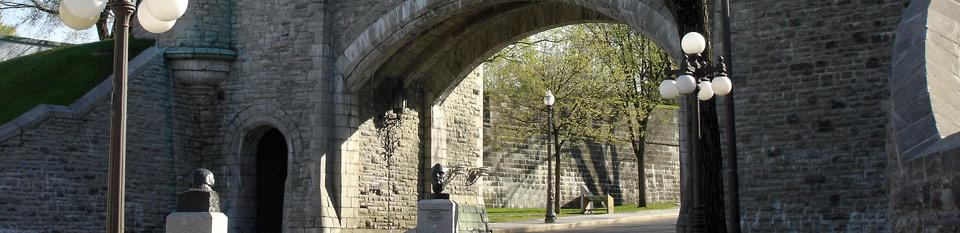 Photo des murs du Vieux Québec