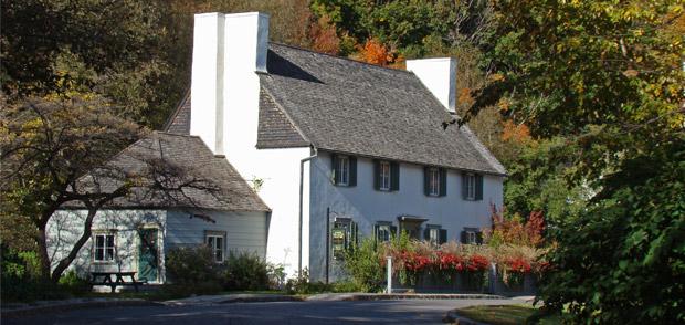Photo de la maison des Jésuites-de-Sillery
