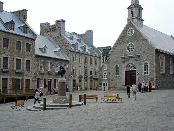 Photo de l'Église de Notre-Dame-des-Victoires à Québec