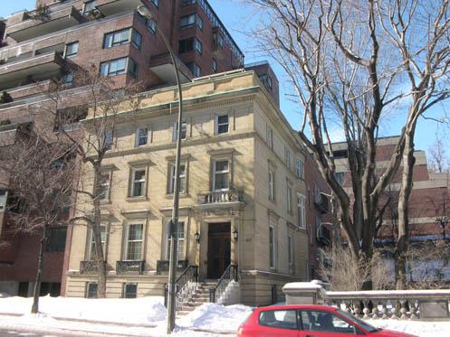 Photo de la maison Charles-G.-Greenshields, immeuble patrimonial classé
