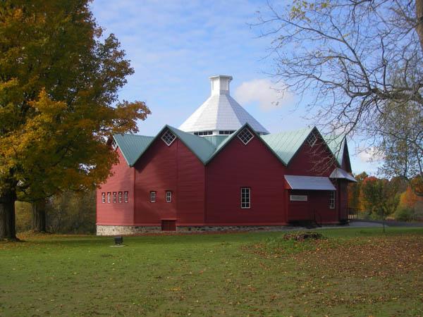 Photo de la grange Alexander-Solomon-Wildbridge en Montérégie