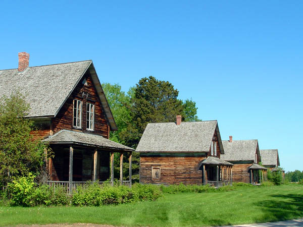 Photo du village historique de Val-Jalbert