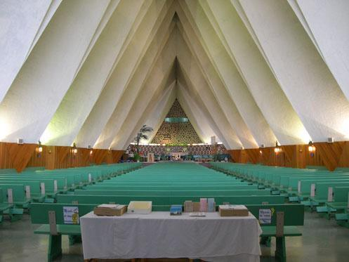 Photo intérieure de l'église de Saint-Marc