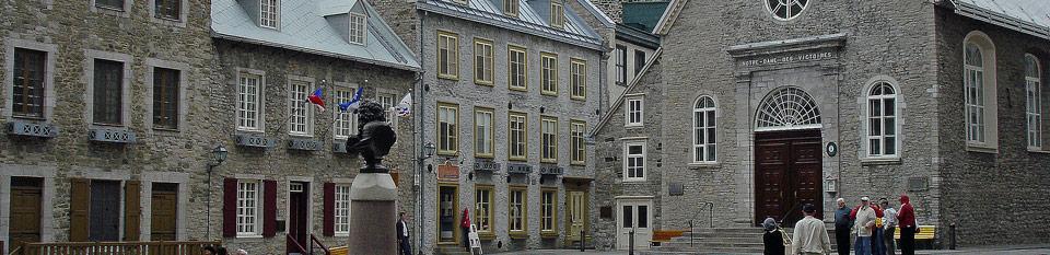 Église de Notre-Dame-des-Victoires Place Royale - Québec